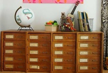 Furniture & Vignettes / Cribs, beds, gliders, dressers, and changing tables. / by Bee @ Hellobee