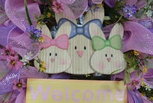 Springtime Joys  / This board celebrates all the holidays spring has to offer....Valentine's, St. Patrick's, and Easter. / by ❤ Lisa Watts ❤