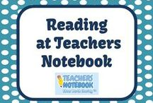 Reading - Teachers Notebook Elementary Items / This board is full of Reading Products and FREEBIES from teacher-authors' Teachers Notebook Stores! Please email FernleySmith@yahoo.com if you would like to be added to this board. / by Fern Smith
