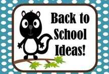 Back To School Ideas! / Elementary School Back to School ideas!  Please email at FernleySmith@yahoo.com for an invite. / by Fern Smith