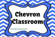 Chevron Classroom / Fern Smith's Classroom Ideas' Chevron Classroom Ideas and Decorations from Teacher Created Resources / by Fern Smith