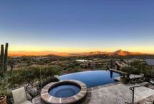Perfect Patios / Patios, decks, pools, firepits and backyards. / by High Altitudes