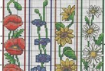 Bookmark patterns / Small cross stitch patterns / by CrossStitchForYou
