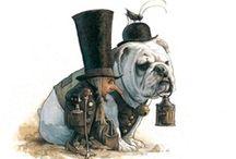 the artful dogger / by Angela Versteijnen