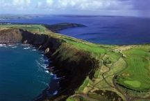 Golf in Ireland / Play a round of golf at ay one of our 400+ courses. Then celebrate (or console yourself) with a round of Guinness at the 19th Hole.  / by Tourism Ireland