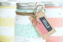Crafting Corner / Collection of Crafting Ideas & Tutorials / by Michelle Elson