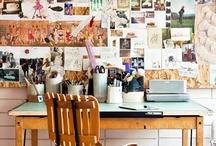 Arbetsplats - Workspaces / by Linda Blomqvist