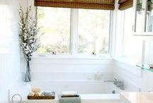 Bathroom Design / Collection of Inspirational Images for Bathroom Design / by Michelle Elson