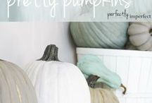Autumn/Fall Decor / collection of autumn and fall decorating ideas / by Michelle Elson