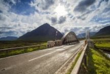 LS Dramatic Road Locations / Scotland has long, winding and empty roads, set off by stunning landscapes and scenery! The ideal location for photo shoots.... / by Location Scotland