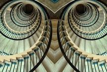 Stairway to heaven / Stairs, staircase, stairway, finishing, fittings, staircase, stairway , wood finishing, wood trim, photography, google / by Tanja Heikkilä