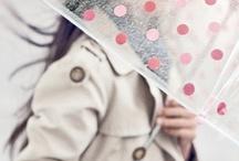 Under my umbrella-ella / umbrella, rain, wet, rainbow, protective gadget, brolly, guard, parasol, protect, screen, shade, shelter, sunshade, google  / by Tanja Heikkilä