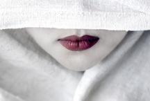 Cherry Lips / lips, lipstick, red,  firth, fly trap, funnel, gate, gills, gob, harbor, inlet, jaws, kisser, lips , mush, orifice, portal, rim, google / by Tanja Heikkilä