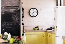 Kitchen ideas / kitchen, floor, ceiling, sink, room for cooking food, canteen, cook's room, cookery, cookhouse, cuisine, eat-in, gallery, galley, kitchenette, mess, scullery, google / by Tanja Heikkilä