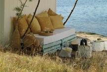 B for Pallet / Pallet, DIY, inspiration, wood, trash, decoration, interior design, google / by Tanja Heikkilä