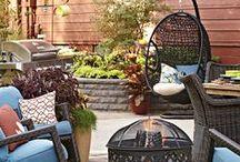 outdoor living / Outdoor Planning / by Karen Keys