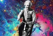 Albie / Albert Einstein -  Dedicated to my sister-in-law for proving his theory. / by Dorothy