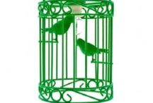 Cage me not! / Birdcages, cages, birds  / by Karen Sabato