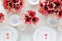 Double Happiness Chinese / double happiness chinese wedding inspirations.  be bold. be chic. be contemporary in a pretty + traditional way / by Carmen Weddings