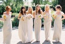 Bridesmaids  / for your gorgeous girls! / by Carmen Weddings