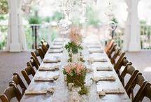 Long Tables / designs + inspiration / by Carmen Weddings