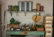 Gardening: Work spaces / by Lisa