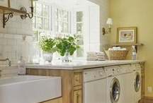 Laundry Rooms <3 / by Lisa