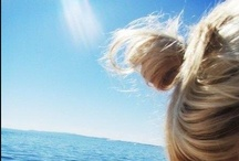Salty Air, Sunshine Hair / by Mackenzie Marshall