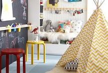 Where {Monsters} Kids Dwell / Kid spaces that are creative & fun. / by Dellah's Jubilation