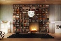 SSShh!! Reading Spaces / Find a cozy spot and grab a good read & A place to store your treasure of books. / by Dellah's Jubilation