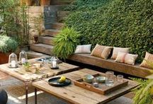 Outdoor Spaces / by Dellah's Jubilation