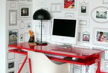 Office Spaces// Organization / by Dellah's Jubilation