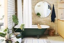 Bathtime! / Calgon take me away... a space to soak away all the days worries or for a quickie shower to get the day started. / by Dellah's Jubilation