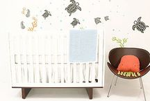Under the Sea Nursery / Enter the octopuses garden of calm & soothing colors and sea creatures / by Dellah's Jubilation