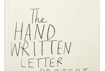 handwritten / by Evicka Machula