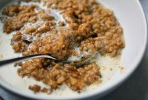 Recipes: Vegetarian Breakfast / (mostly) vegetarian breakfast recipes! / by Andrea Hable