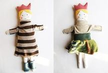 Kid fun: dolls / by Andrea Hable