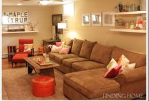 Basement playroom inspiration / by Andrea Hable