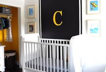 Nursery / Nautical Baby Boy Nursery Ideas • Modern Baby Girl Nursery Ideas  / by Kelly