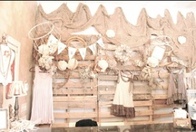 Display Ideas / Inspiration for our Painted White vintage fleamarket displays! / by Claudia Lindsey