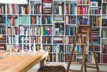 Beautiful Book Shelves / If you're a book lover like me, you want book shelves that do justice to your collection. These book cases will make your books look like works of art. / by Natasha Lester, Author
