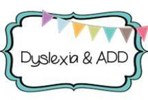 {HOMESCHOOL} dyslexia/add / by Beth Silcott