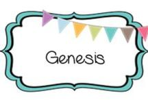 {HISTORY} genesis / Biblical creation through Noah & the flood / by Beth Silcott