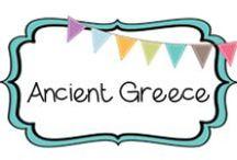 {HISTORY} greeks / by Beth Silcott