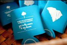 Custom Koozies / We love customized and monogrammed koozies as wedding day favors! / by Southern Weddings Magazine