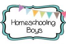 {HOMESCHOOL} boys / by Beth Silcott