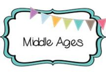 {HISTORY} middle ages / by Beth Silcott