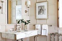 Bathrooms / by MattieLuxe