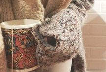 fall-winter fashion / sweaters. boots. scarves. nothing better / by Mimi Bo