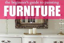 furniture fix ups / by Mimi Bo